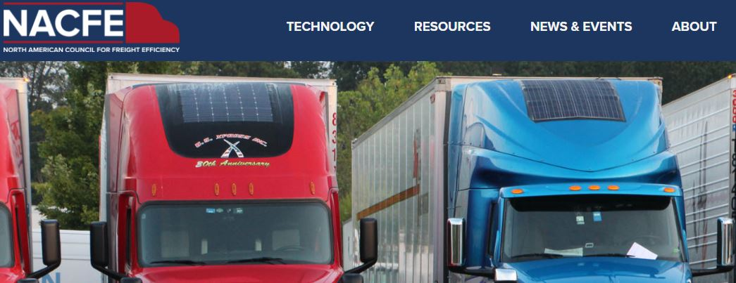 """Adopt, invest, or test"" says new NACFE report on Solar for Trucking"