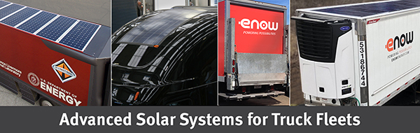 eNow solar battery-charging systems