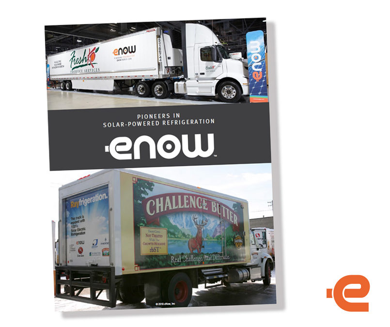 eNow pioneers solar-powered refrigeration