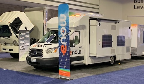 eNow exhibit at NACV – the #1 Truck Fleet Show