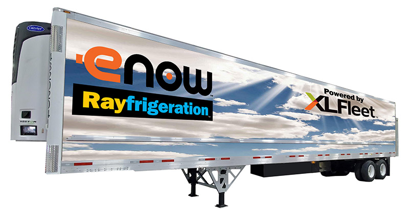 XL Fleet partners with eNow to Electrify Refrigerated Trailers